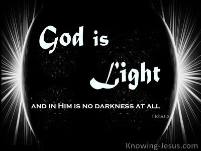 1 John 1:5 The Word of Light (devotional)03:20 (black)